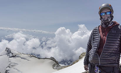 Summit of Mt. Baker, July 2018